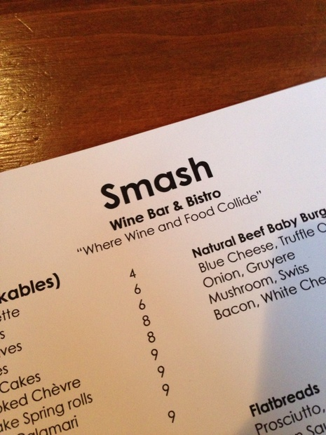 Smash Wine Bar & Bistro