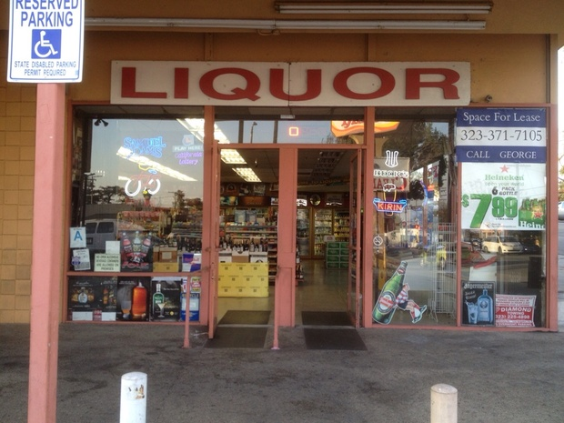 Liquor Mart Of Los Feliz