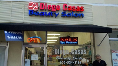 Diego Casas Beauty Salon Inc