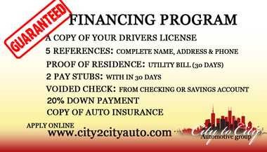 City To City Auto Sales Llc