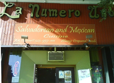 La Numero Uno Restaurant &amp; Pupuseria