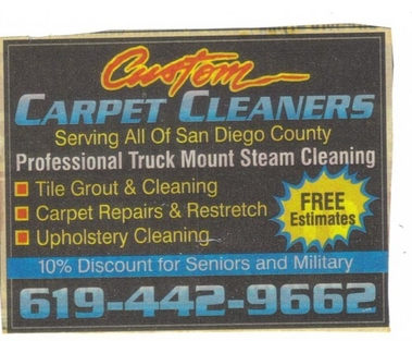 Custom Carpet Cleaners