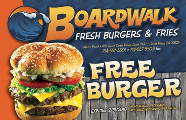Boardwalk Fresh Burgers-Fries