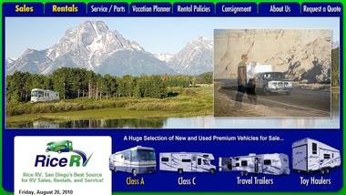 Rice RV Rentals And Sales