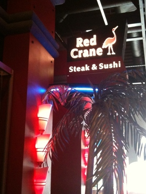 Red Crane Steak &amp; Sushi Cafe