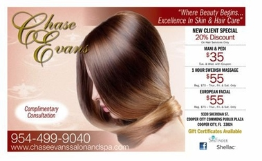 Chase Evans Salon &amp; Spa