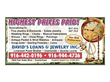 David&#039;s Loans &amp; Jewelry INC