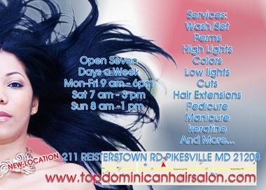Top Dominican Hair Salon