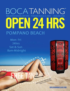 Boca Tanning Club Pompano Bch