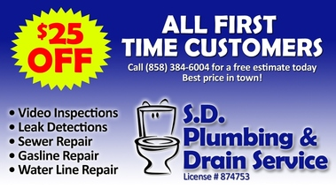 S.d. Plumbing &amp; Drain Service