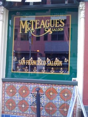 Mcteague's Saloon