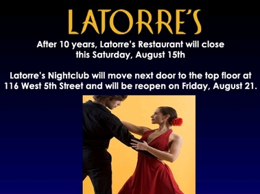 Latorre&#039;s Latin Inspired