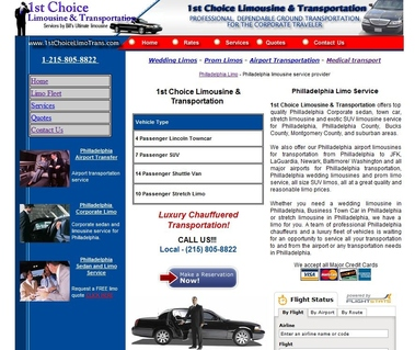 1st Choice Limousine And Transportation Group