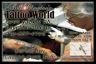 Bill Claydon&#039;s Tattoo World