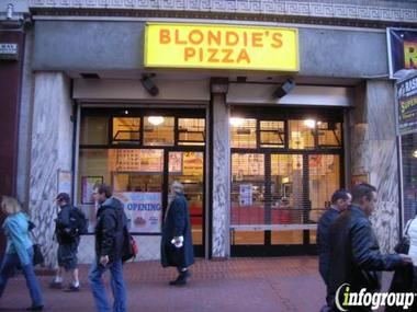Blondies Pizza
