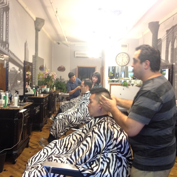 Barber on Pearl