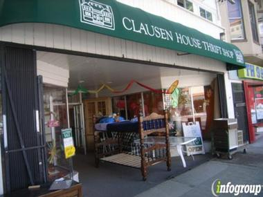 Clausen House Thrift Shop