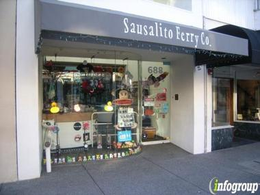 Sausalito Ferry Co Gift Store