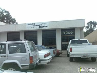 Greg&#039;s Import Repair