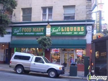 Fred&#039;s Liquor Store