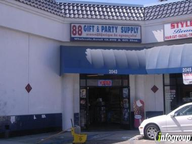 88 Gifts & Party Supplies