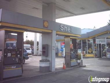Auburn Shell Gas Station
