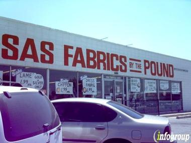 Sas Fabrics By The Pound