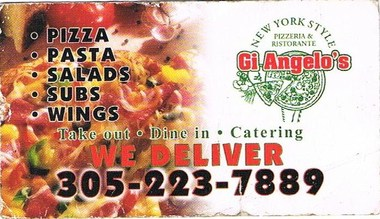 Gi Angelo's Pizza
